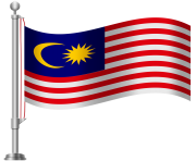 Malaysia Flag PNG Clip Art