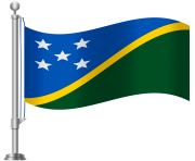 Solomon Islands Flag PNG Clip Art