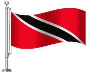 Trinidad and Tobago Flag PNG Clip Art