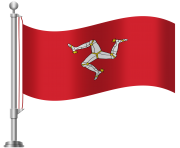 Isle of Man Flag PNG Clip Art