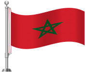 Morocco Flag PNG Clip Art