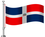 Dominican Republic Flag PNG Clip Art