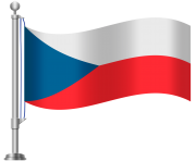 Czech Republic Flag PNG Clip Art