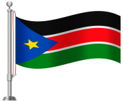 South Sudan Flag PNG Clip Art