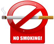 No Smoking Warning Sign PNG Clipart