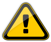 Danger Warning Sign PNG Clipart