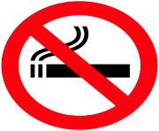 No Smoking Sign PNG Clipart