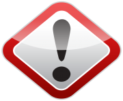 Warning Sign PNG Clipart