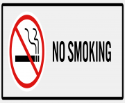 No Smoking Sign PNG Clip Art