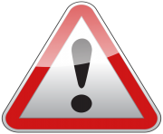 Triangle Warning Sign PNG Clipart