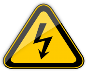 High Voltage Warning Sign PNG Clipart