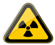 Radiation Hazard Warning Sign PNG Clipart