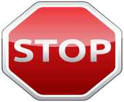 Stop Sign PNG Clipart