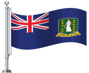 British Virgin Islands Flag PNG Clip Art