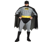 muscle chest batman plus costume clip art