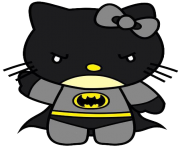 hello kitty batman cute png transparent
