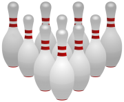 Bowling Pins PNG Clipart