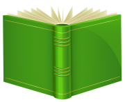 Green Book PNG ClipArt