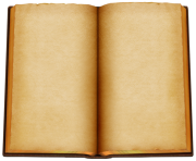 Old Open Book PNG ClipArt