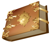 Luxury Old Book PNG ClipArt