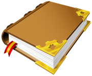 Brown Book PNG ClipArt