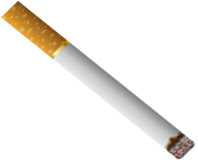 Cigarette with Filter PNG Clipart