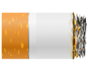 Burning Cigarette PNG Clipart