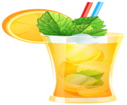 Transparent Orange Cocktail PNG Clipart