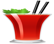 Cocktail Bloody Mary PNG Clipart