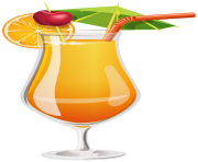 Orange Cocktail PNG Clipart