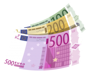 Banknotes Euro PNG Clipart