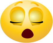 Sleeping emoticon emoji Clipart info