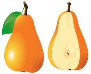 Pears Fruit PNG Clipart