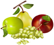Mixed Fruits PNG Clipart