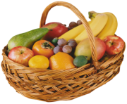 Fruit Basket PNG Clipart