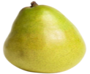 Green Pear Fruit PNG Clipart
