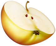 Apple Slice PNG Clip Art