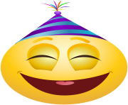 Party emoticon emoji Clipart info