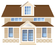 House PNG Clip Art2146