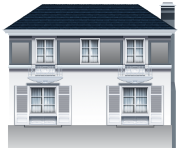 Large House PNG Clip Art