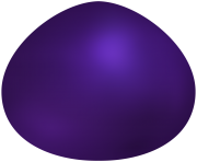 Dark Purple Easter Egg PNG Clip Art
