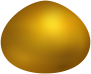 Gold Easter Egg PNG Clip Art