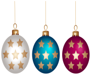 Christmas Ball Set PNG Clip Art