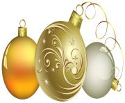 Christmas Ball Decor PNG Clipa