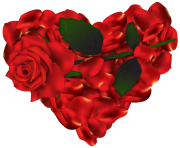 HeArtof Roses PNG Clipart