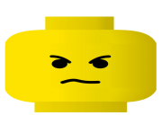 lego angry clip art face emoji png