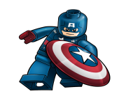captain america lego hd clip art png background