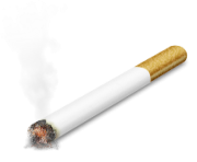 Thug Life Cigarette PNG transparent