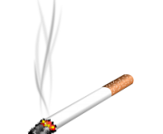 Thug Life Cigarette Smoke PNG transparent