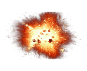explosion and sparks png transparent